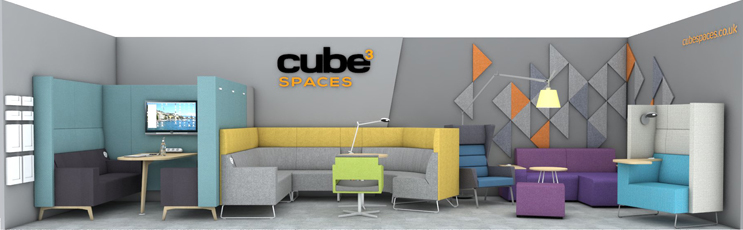Cube Spaces Stand at Project, Clerkenwell Design Week
