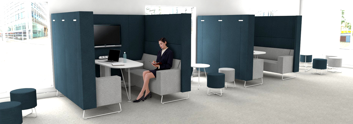 Meeting Booths Why Every Open Plan Workspace Needs Them